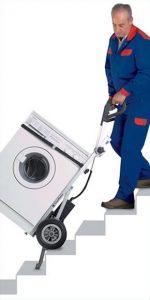 washing machine one man stairs