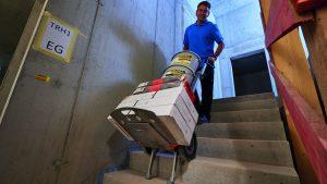 powered stairclimber